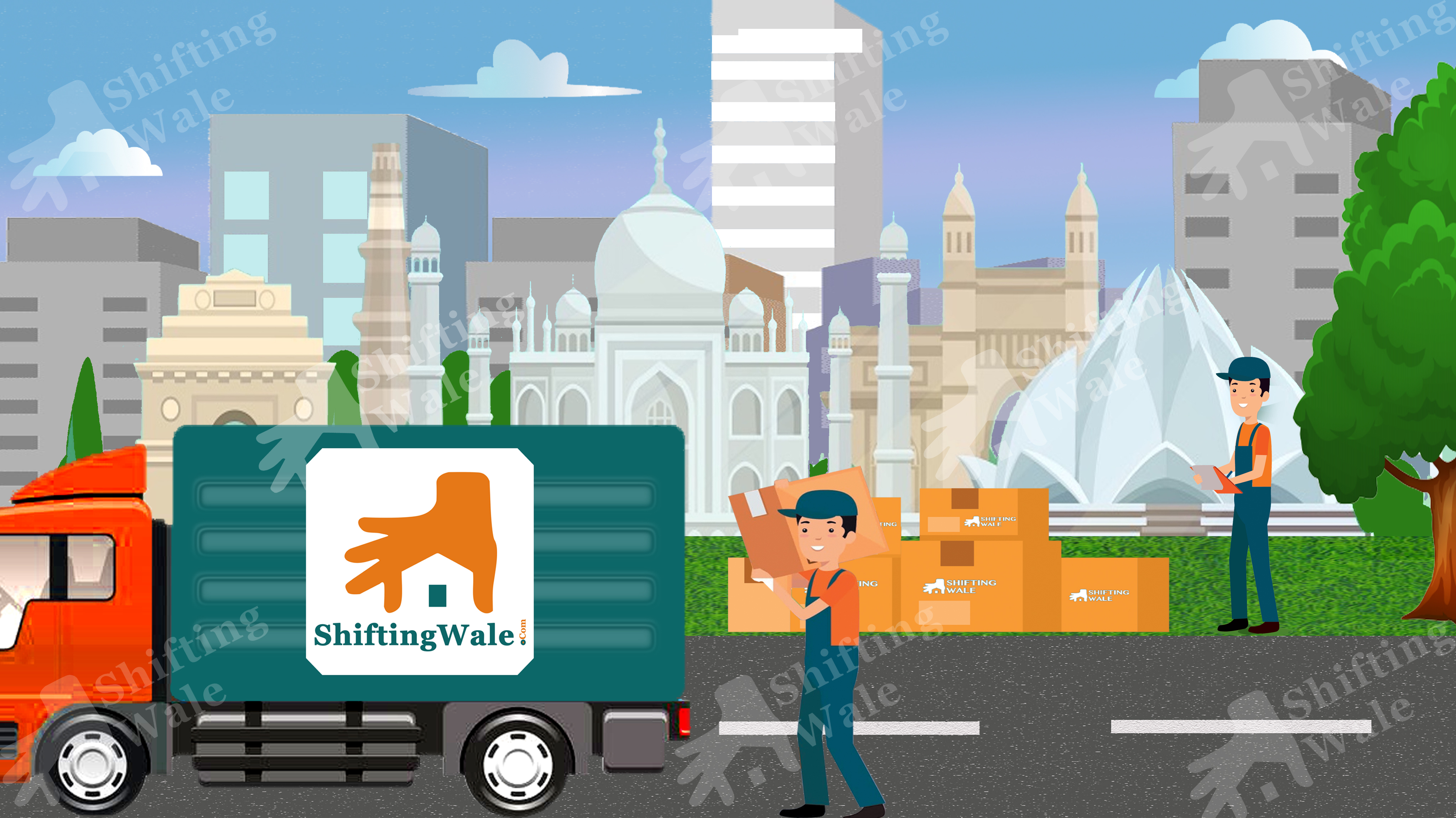 Indore To Delhi Trusted Packers And Movers Services