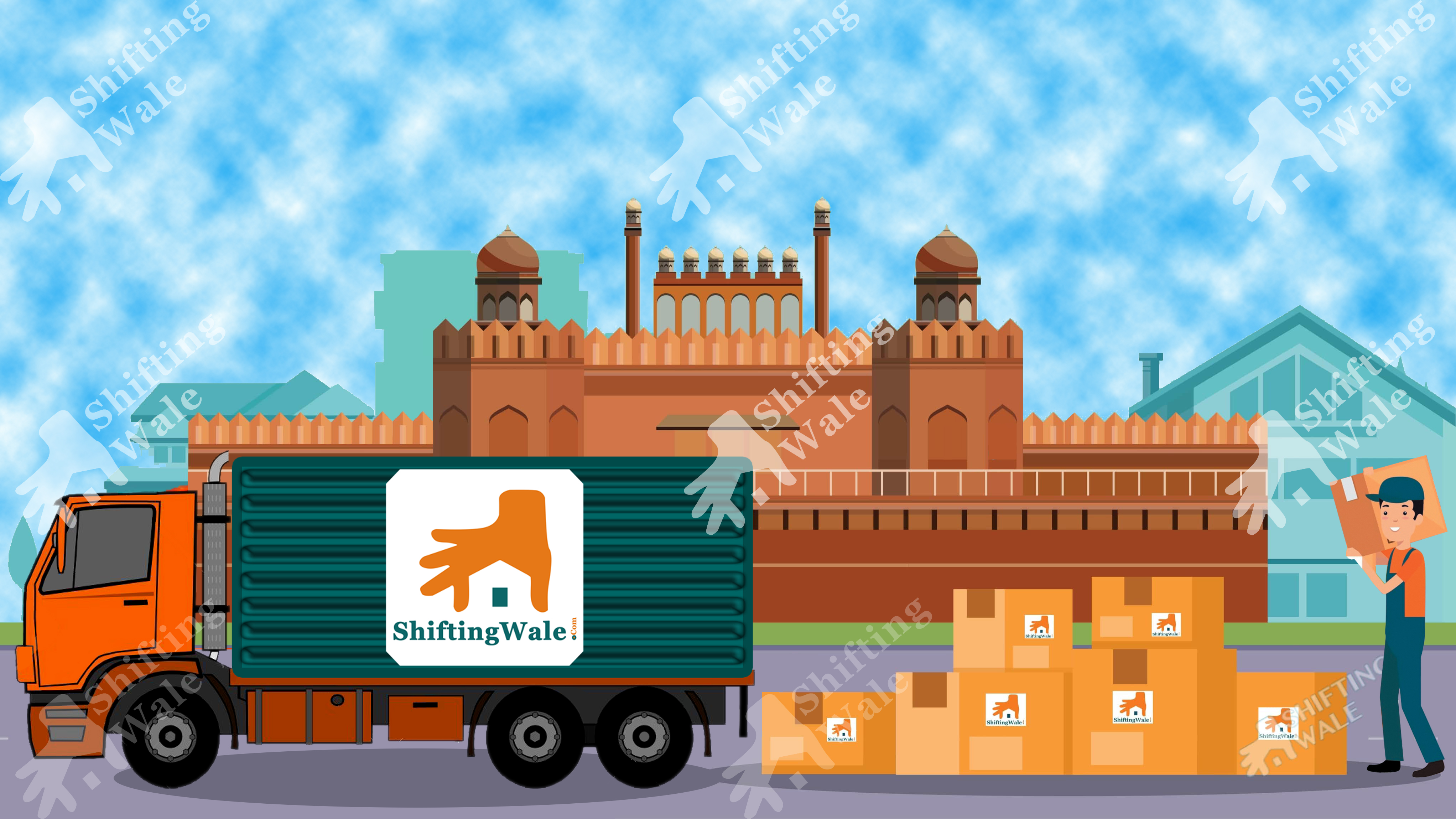 Mumbai to Delhi Packers and Movers Get Free Quotation with Best Price