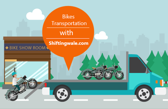 Transportation Bike Motorcycle with Best Packers and Movers From Delhi Noida Ghaziabad Gurugram Greater Noida Faridabad