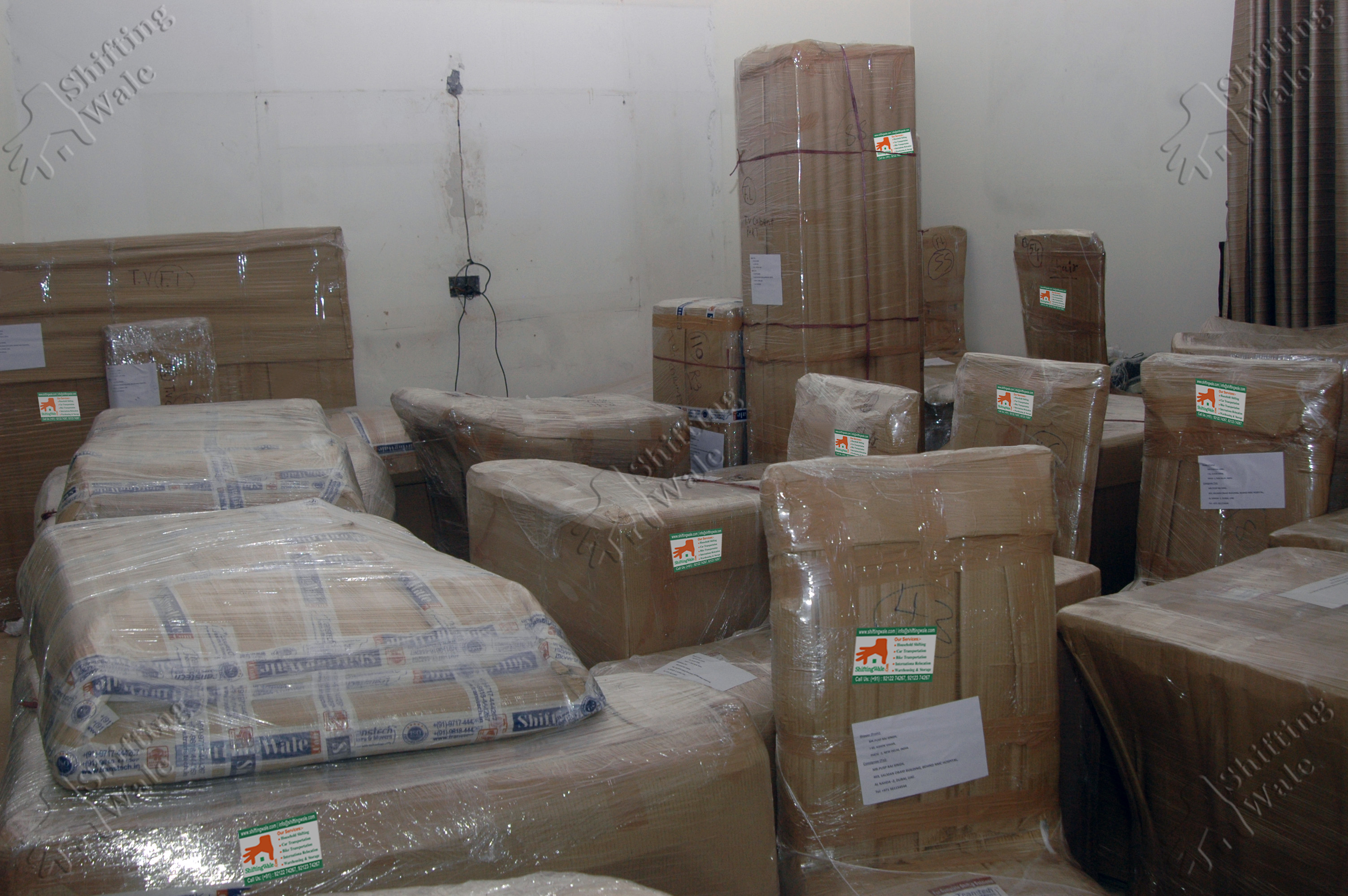 Bed Room Furniture Packing Services