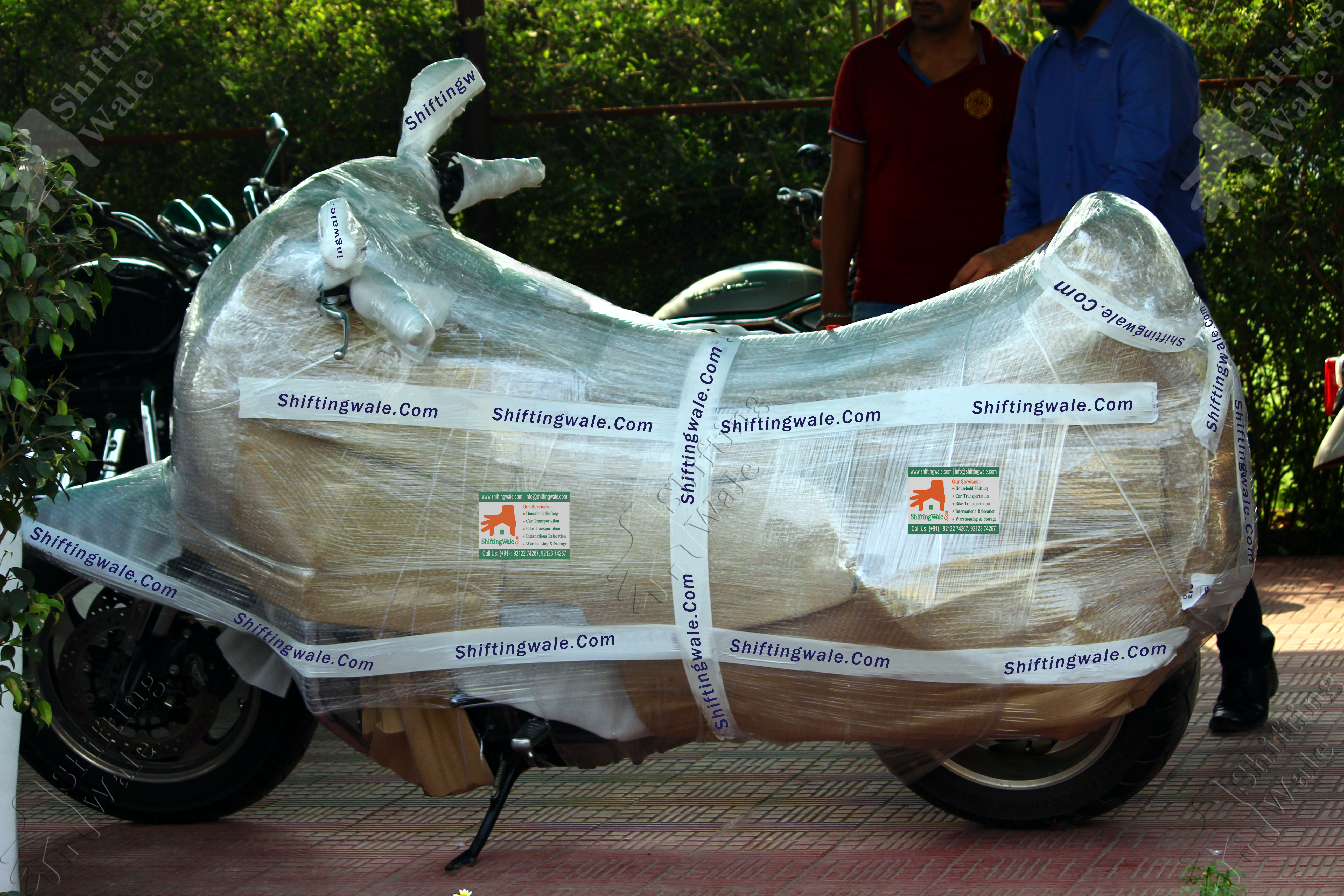 Best Two Wheeler Packing Services