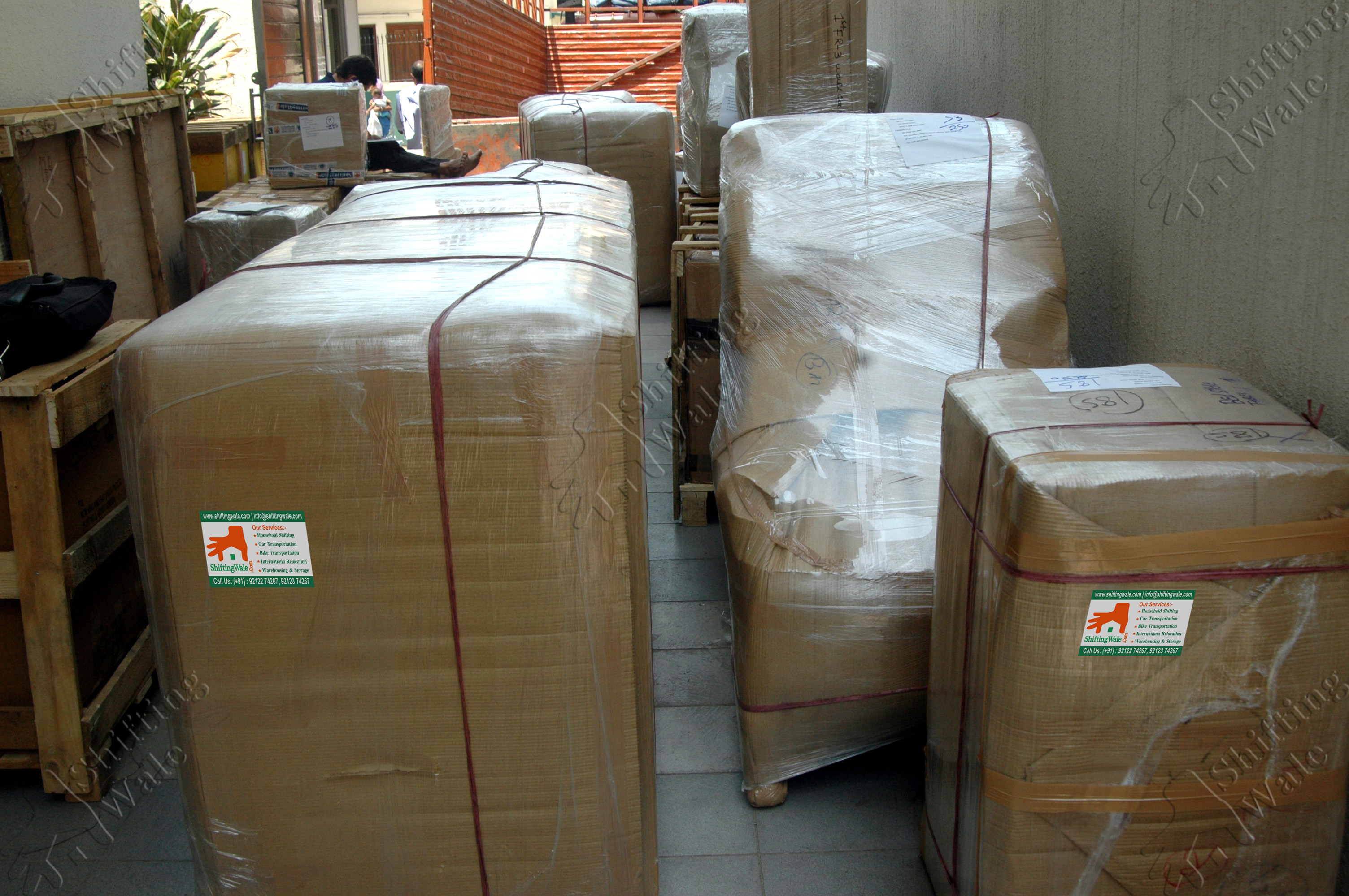 Household Electronics Goods Packing Services