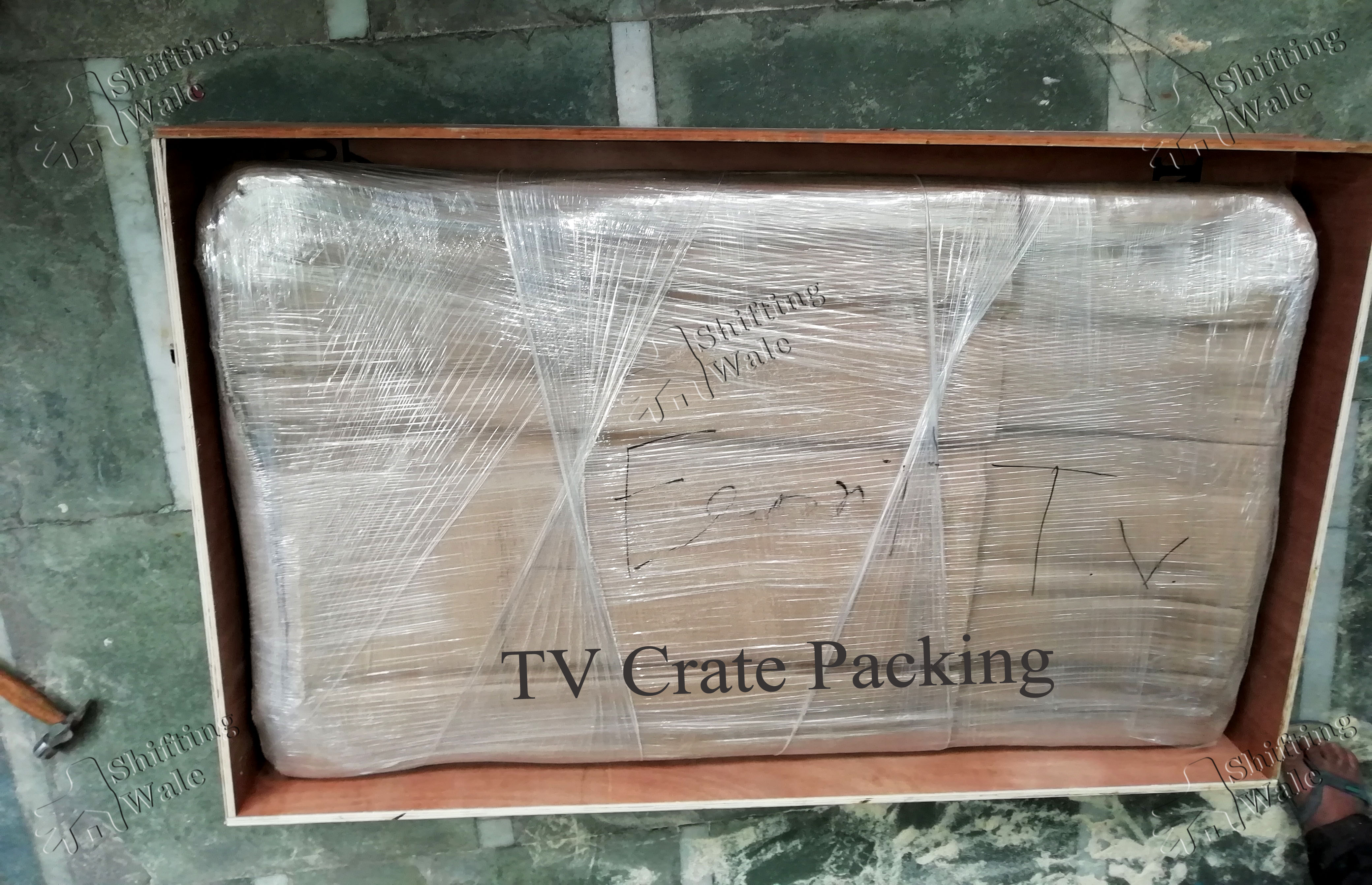 LCD TV Wooden Crate Packing
