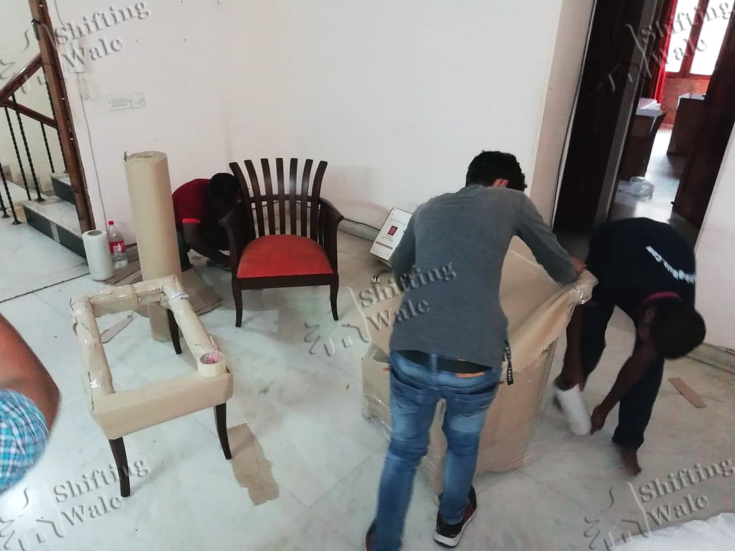 Office Furniture Packing Services